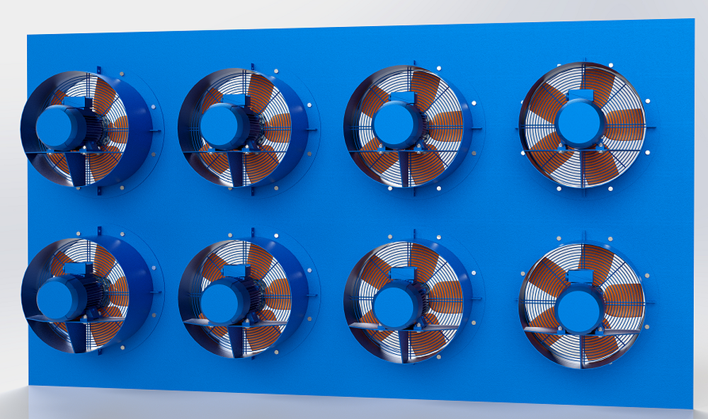 FANS FOR DYNAMIC CONTROLLED ATMOSPHERE