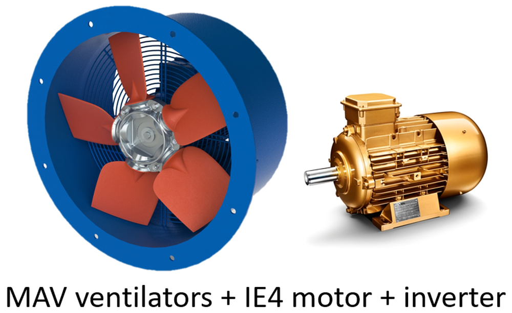 HW VENTILATION SUPPLIES VENTILATORS WITH IE4 MOTORS