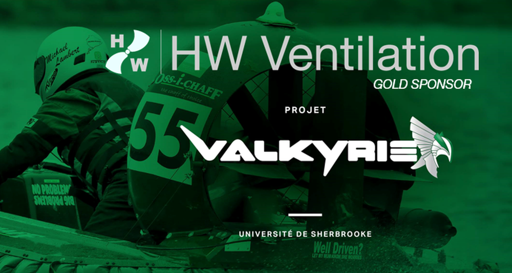 HW VENTILATION IS GOLD SPONSOR OF CANADIAN UNIVERSITY HOVERCRAFT PROJECT
