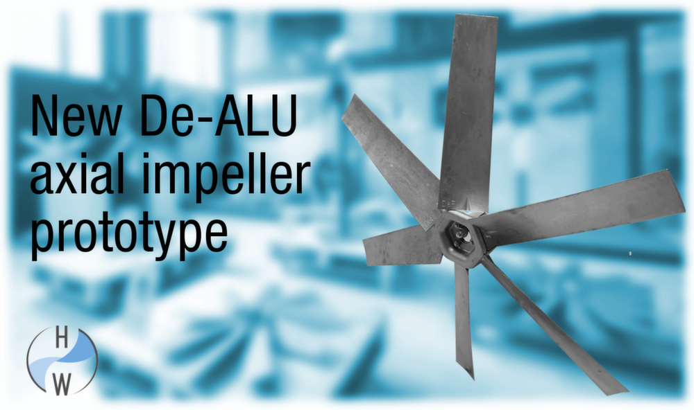Axial impeller prototype
