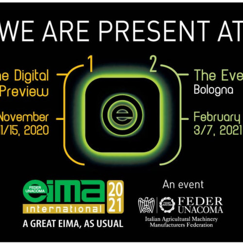 VISIT US AT EIMA 2020 DIGITAL PREVIEW!